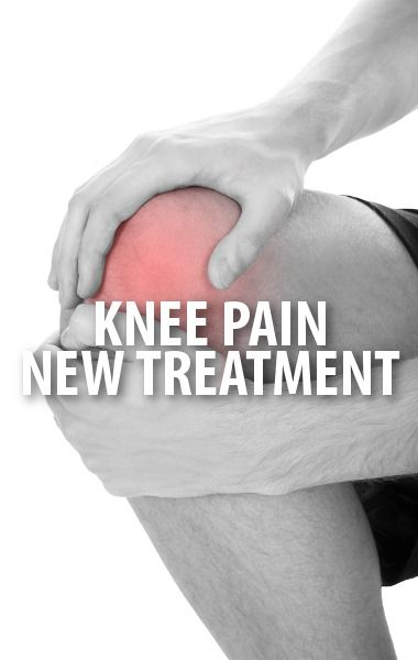 New knee pain treatment
